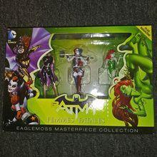 Eaglemoss DC Comics Masterpiece: Femme Fatales Large Figurine Box Set (EAGLEBS02) Batgirl, Harley Quinn, & Poison Ivy
