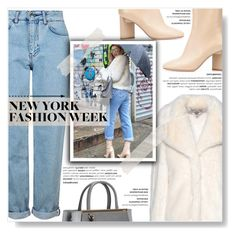 """New York Fashion Week..."" by yurisnazalieth1 ❤ liked on Polyvore featuring Topshop, STELLA McCARTNEY, Maison Margiela and Fendi"