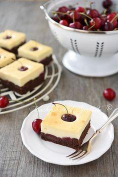 Kirschkuchen mit Quarkcreme
