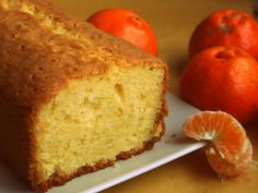 Budín de Mandarina Sencillo (¡y Köstliche Desserts, Dessert Drinks, Delicious Desserts, Dessert Recipes, Pan Dulce, Crazy Cakes, Homemade Cake Recipes, Pound Cake Recipes, Southern Pound Cake