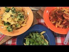 Pasta con 3 salsas  putanesca pesto y carbornara reversionadas https://youtu.be/bwGAKg3EI4Y