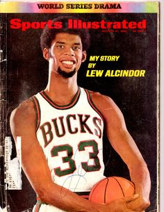 Featured is a Kareem Abdul-Jabbar Milwaukee Bucks Signed Sports Illustrated Magazine. This item was hand-signed by Kareem Abdul-Jabbar and includes a JSA Auction House Letter of Authenticity. Basketball Shooting, Love And Basketball, Sports Basketball, Basketball Players, College Basketball, Nba Players, Basketball Shoes, Basketball Cards, Basketball Court
