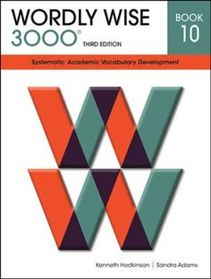 J - Wordly Wise 3000 Student Book Gr 10, 3rd Edition   -     By: Kenneth Hodkinson, Sandra Adams