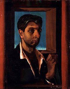 Chirico, Giorgio de (1888-1978) - 1919 Self-Portrait (Sotheby's New York, 2002) by RasMarley, via Flickr