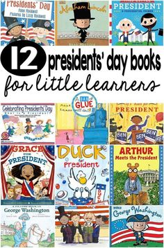 I always LOVE using books when teaching social studies. They always provide my students with a great visual to help them better understand the material being taught. These Presidents' Day books will be the perfect