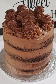 This Nutella buttercream frosting is a quick and easy chocolate frosting recipe! Make the best buttercream frosting using chocolate hazelnut spread, heavy cream, vanilla, and hazelnut extract. You will love using this chocolate buttercream frosting to make a delicious chocolate cake for dessert!
