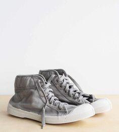 sale retailer 483c1 28ab9 Bensimon Sneaker  Mid Femme in Pearl Grey  Father Rabbit