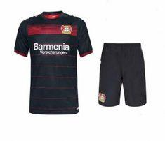 Bayer Leverkusen Home 2016-17 Season Soccer Shorts With Jersey [G69]