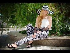 Básico delantero del pantalón femenino- how to make a basic pant pattern - YouTube