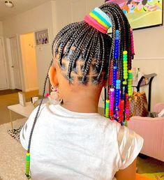 Little Girl Braid Styles, Cute Little Girl Hairstyles, Kid Braid Styles, Little Girl Braids, Cute Hairstyles For Kids, Baby Girl Hairstyles, Black Girl Braids, Hair Styles, Hairstyle Ideas