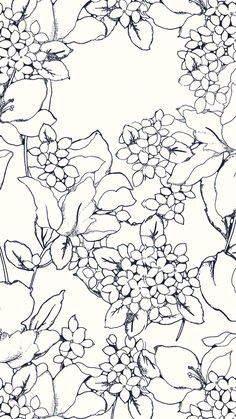 Blue And White Floral Pattern Design Ideas Inspiration Love This Print