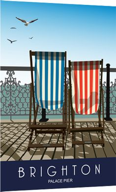 Brighton Pier, Deck Chairs