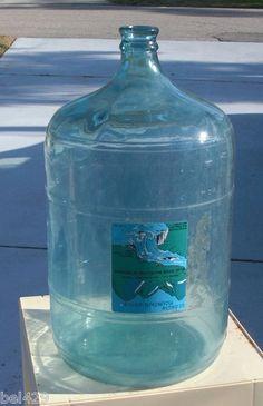 #BLUE GRASS JUG  Vintage 5 gal water bottle  $159.95