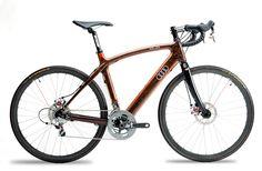wooden bike frame :O