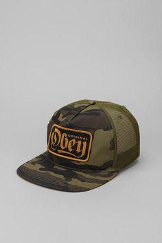 OBEY Stout Trucker Hat