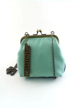 mint green bag by MOIMOI