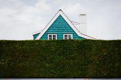 Si la végétation est de l'ordre du naturel, le mur lui est culturel. Il nous protège artificiellement du regard des autres. Intra muros il dissimule ce que l'on cache, extra muros ce que l'on aimerait voir. D'où sans doute cette manie de donner à nos haies végétales l'aspect taillé de la pierre ou du béton armé. Alexandra Davy
