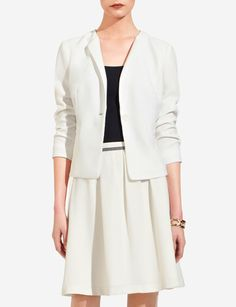 Soft One-Button Jacket | Women's Jackets & Blazers | THE LIMITED