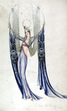 Paul Seltenhammer ~ Costume Design for Paris Music Hall Art Deco Illustration, Illustrations, Document Iconographique, Costume Design Sketch, Inspiration Art, Theatre Costumes, Fashion Art, Fashion Design, Character Costumes