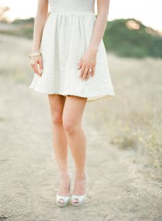 Little creme dress: http://www.stylemepretty.com/2014/10/14/from-sonoma-to-san-francisco-a-california-engagement/ | Photography: KT Merry - http://www.ktmerry.com/