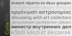 Cytia Pro - Webfont & Desktop font « MyFonts