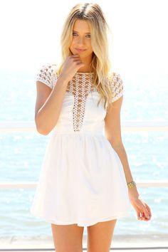 037090f612e5 SABO SKIRT Mermaid Dress - White - (No Colour Specified) - 58.0000 White  Babydoll
