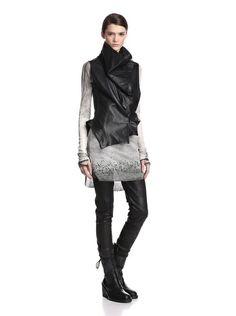 Ann Demeulemeester Women's Convertible Leather Vest, http://www.myhabit.com/redirect/ref=qd_sw_dp_pi_li?url=http%3A%2F%2Fwww.myhabit.com%2Fdp%2FB00DYTN44S