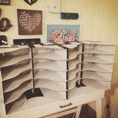 student mailboxes using IKEA Flyt magazine holders! Student Mailboxes, Classroom Mailboxes, Classroom Hacks, Classroom Layout, Classroom Organisation, First Grade Classroom, Classroom Design, Kindergarten Classroom, School Classroom
