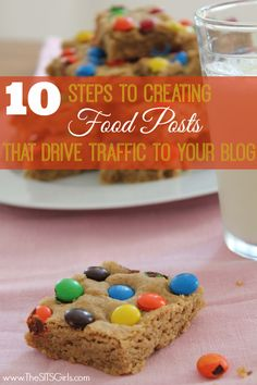 how to drive traffic with food blog
