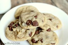 ... on Pinterest | Chocolate chip cookies, Basic cookie recipe and Oatmeal