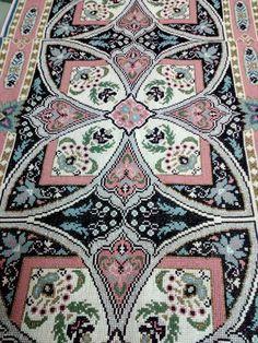 Cross Stitch Embroidery, Cross Stitch Patterns, Crochet Patterns, Bohemian Rug, Carpet, Cushions, Butterfly, Rugs, Crafts