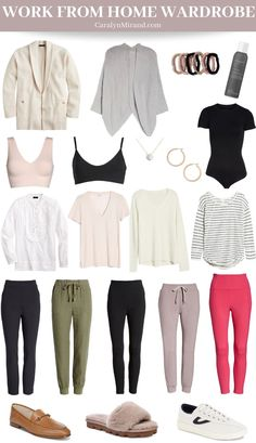 Work From Home Wardrobe — Caralyn Mirand Loungewear Outfits, Work Fashion, Fashion Outfits, Capsule Wardrobe Work, Fashion Capsule, Capsule Outfits, Home Outfit, Petite Fashion, Work Casual
