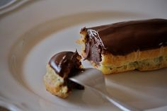 Eclairs al cioccolato