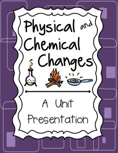 Physical and Chemical Changes PowerPoint Presentation.  Made with Prezi: Presentation on a virtual canvas!  Aligned with 5th Grade Science Standards in Georgia. Paid