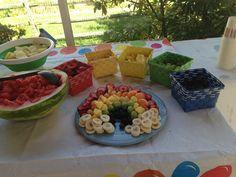 Taste the rainbow fruit