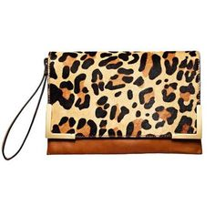 Timeless Leopard Print Clutch for fall, $50