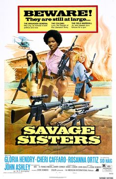 """Savage Sisters (1974) (dir. Eddie Romero)  One of my favourite camp classic exploitation films.  """"There was a time when I'd have let you piss in my face just to see where it came from, but now I hope I never see you again.""""   John Ashley playing W. P. Billingsley"""