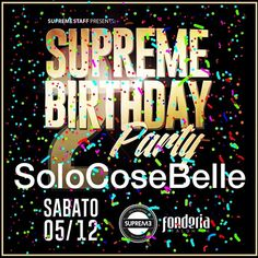 Finalmente ci siamo... Sabato 5.12.25 #supremebirthday #supremestaff #supremegirls #solocosebelle #solohiphop #hiphop #hiphopdance #hiphopstyle #hiphoplife #hiphopculture #dimitrimazzoni