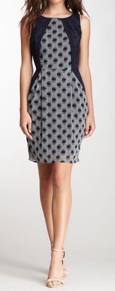 Dots pencil dress