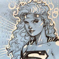 Supergirl by Jim Lee *