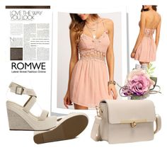 """ROMWE6/2"" by melissa995 ❤ liked on Polyvore"
