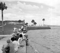 Bayfront - 1960 Source - State Archives of Florida, Florida Memory, http://floridamemory.com/items/show/78130