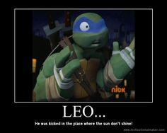Oh, Leo... XD