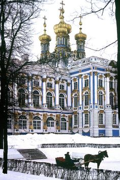 Tsarkoe Selo - Catherine's Palace, Russia