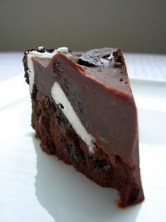 Chocolate Crunch Slice - Pure Chocolate, Butter, Cream and Shortbread Cookies