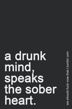 One reason I don't let myself drink too much!