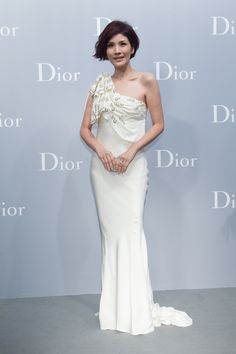 YaChi Giang at the new Dior boutique opening in Taipei. Discover more on www.dior.com
