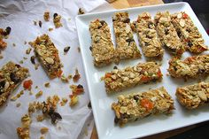 Fully Loaded Granola Bars - Just made these and they are yummy!