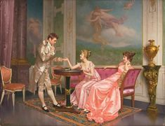 "Vittorio Reggianini - The courtship (""....we're going to get married, aren't we......"")"