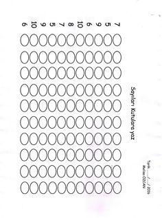 Soldaki rakam kadar kutulara rakamları yaz., veya soldaki rakam kadar boya.